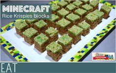 Minecraft Rice Krispies Blocks - EverythingMom