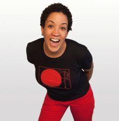 Record Player women's tshirt size small DJ by blackbirdandpeacock, $22.00