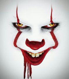Clown Horror, Arte Horror, Halloween Circus, Halloween Masks, Arley Queen, Superhero Pop Art, Clown Paintings, Scary Wallpaper, Pennywise The Dancing Clown