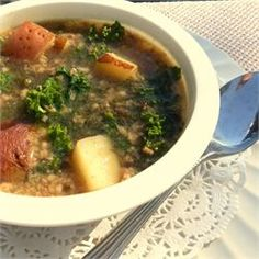 Simple Kale Soup - Allrecipes.com