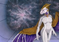 ArtTrade: Cosmic Tir by https://samantha-dragon.deviantart.com on @DeviantArt