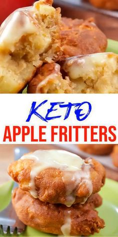 Tasty Keto apple fritters you CAN NOT stop eating! This simple ingredient keto recipe is easy to make and super yummy. Homemade not store bought keto low carb fried apple fritter. - Perfect f Ketogenic Diet Meal Plan, Ketogenic Diet For Beginners, Diet Meal Plans, Ketogenic Recipes, Low Carb Recipes, Diet Recipes, Diabetic Recipes, Ketogenic Breakfast, Diabetic Meals For Kids
