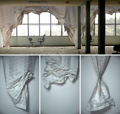 These origami curtains by Florian Krautli are breathtaking. The structured design which incorporates magnets allows the curtains to be fold...