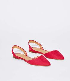 9aad02de5155e9 These slingback flats are the answer to everyday chic