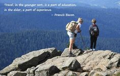 Your travel is part of education or experience? - www.ticketgoose.com