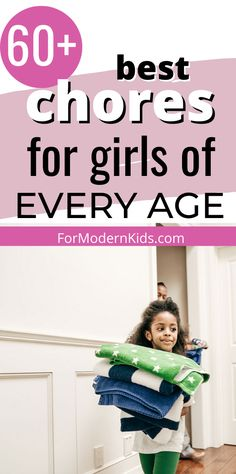 Here are the ultimate list of chores for girls that fit for every age! Girls are capable of everything, and these easy chores for kids will totally show that! Teach your baby girl how to be responsible at a young age! #choresforkids #choresforkidsbyage Allowance Chart, Chores And Allowance, Chores For Kids By Age, Outdoor Jobs, Age Appropriate Chores, Chore List, Charts For Kids, How To Make Bed, Babysitting