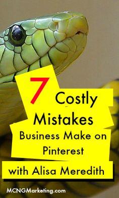 7 Costly Mistakes Businesses Make on Inbound Marketing, Marketing Plan, Business Marketing, Business Tips, Online Marketing, Social Media Marketing, Online Business, Marketing Articles, Pinterest For Business