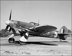 Hawker aircraft including the Hurricane, Typhoon and Tempest served England well during World War II.