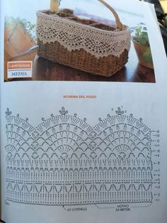Lace Pattern Crochet Lace Edging for Towel ~~ sandragcoatti - Salva . Crochet Lace Pattern Crochet Lace Edging for Towel ~~ sandragcoatti - Salva . Crochet Shawl Diagram, Crochet Edging Patterns, Crochet Lace Edging, Crochet Borders, Crochet Chart, Filet Crochet, Crochet Doilies, Knitting Patterns, Crochet Edgings