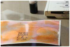 Kreative Träume - Papierkunst & mehr: Bokeh-Effekt # 1 (oder auch: Aquarellpapier von Stampin' Up!)