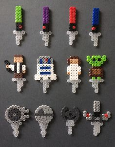 A personal favorite from my Etsy shop https://www.etsy.com/listing/248077417/12-star-wars-themed-toppers-cake-and