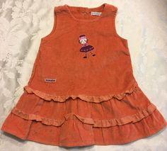 Girl Size 9 Month Dress Orange Fall Baboushka Jumper Dress in Extenso European | eBay