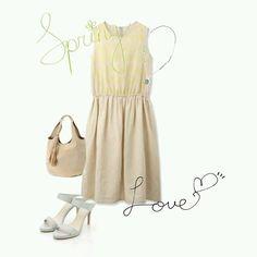 #dress #bag #sandals #necklace #collection #coordinate #fw #pintarest #mao_pak #o_range  o(^-^o)(o^-^)o (Tokyo Opera City Tower)
