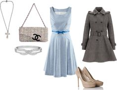 """Easter Outfit"" by sonyam137 ❤ liked on Polyvore"