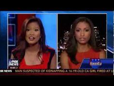 Michelle Malkin VS Eboni Williams - The Race Card Debate on Hannity Show...