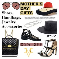 """""""Last Days: Mother's day gifts: 25% OFF"""" by ifchic ❤ liked on Polyvore featuring Eugenia Kim, Janessa Leone, Grey Ant, Boutique Moschino, Dee Keller, Toga, Fallon, Edge of Ember and contemporary"""