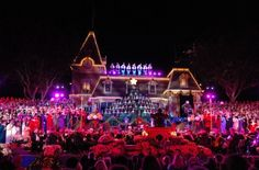2012 Disneyland Candlelight Ceremony Limited Viewing Opportunities