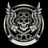 Motor Skull Emblem - Download From Over 46 Million High Quality Stock Photos, Images, Vectors. Sign up for FREE today. Image: 54795506