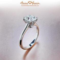 Solitaire Engagement Rings Princess Cut - Princess Cut Engagement Rings, love this setting!