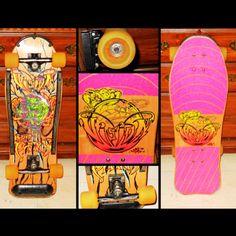 Deck of the Day | Vision | Ken Park  #vintage #skateboard  # vintageskateboard #sk8face #visionskateboards #kenpark