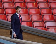 Stevie at Anfield!