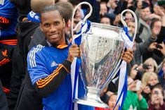 Drog gone! #Chelsea confirm Didier #Drogba IS leaving the club    It means his very last kick for Chelsea was the penalty that gave his side victory against Bayern Munich in the Champions League final