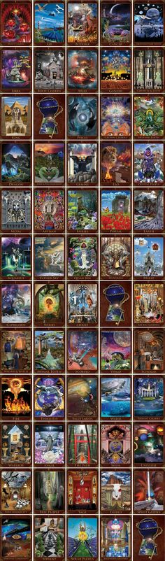 Revelations:Self-Publishing Oracle Cards ( Tarot ) by Paul Miller — Kickstarter