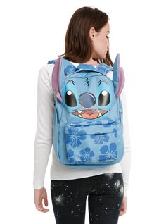 Disney Lilo & Stitch Hibiscus Backpack,