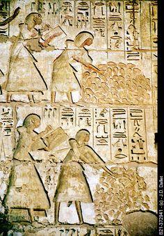Medina Habu temple. Luxor West Bank. Egypt