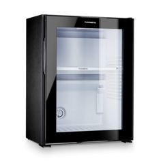 Away from the home kitchen, sleek, energy-efficient Dometic minibars are compact mini fridges with a smart design. Choose locking, drawer or glass door models. Black Mini Fridge, Mini Fridge In Bedroom, Pinterest Room Decor, Glass Fridge, Smart Glass, Chill Room, Home Gym Design, Gamer Room, Solid Doors