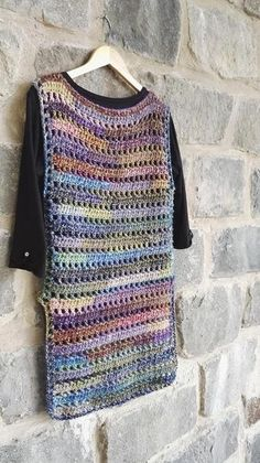 Used high quality yarn from german producer. This one fits best to EU sizes Foto made on model size high Also possible to make other size/colour variation especially for you. Do not hesitate to contact me. Poncho Au Crochet, Crochet Jacket, Chunky Crochet, Hand Crochet, Knit Crochet, Crochet Vests, Crochet Stitch, Single Crochet, Modern Crochet Patterns