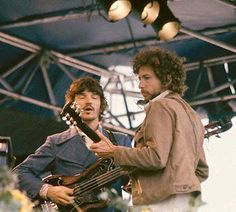 Rick Danko of The Band and Bob Dylan