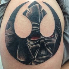Star Wars Tattoos    I would never get it, but this is sick