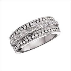 Thick Wedding Bands On Pinterest Wedding Bands Wide Wedding Bands And Enga