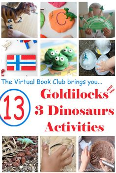 Dinosaur Activities from the Virtual Book Club