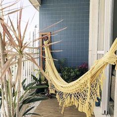 Gorgeous Hammock Ideas For Apartment Balconies - Unique Balcony & Garden Decoration and Easy DIY Ideas