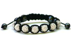 Wood Junkie Wood Junkie Shamballa Black Wired Diamonds - Urban Classics-Shop.nl