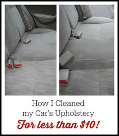 how to clean upholstery in a car with home remedies stains water stains and i am. Black Bedroom Furniture Sets. Home Design Ideas