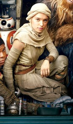 Star Wars: Fit for a Queen, Rey's Scavenger Outfit - Promotional Photos: