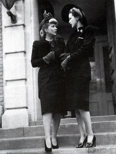 """lifes-commotion: """" Ann Sothern and Eleanor Powell in 1941. """""""