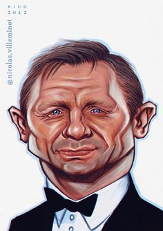 Daniel Craig :: color sketch by ~ElectroNic0 on deviantART