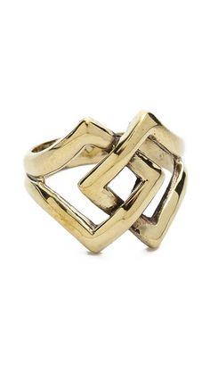 SunaharA Malibu Diamond Link Ring