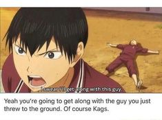 Dont you dare doubt my baby Kags