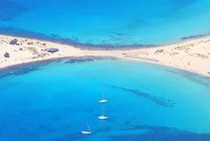 Elofonisos island - Simi beach - Greece - like no other beaches anywhere. The Beach, Beach Fun, Greece Vacation, Greece Travel, Santorini, Atlantis Island, Places To Travel, Places To See, Exotic Beaches