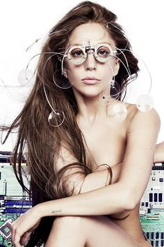 Lady Gaga. She is just...just.