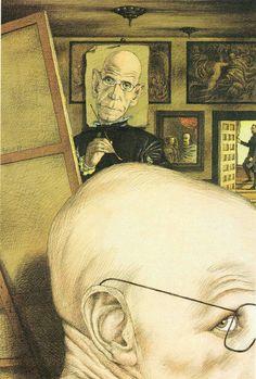 Tullio Pericoli Michel Foucault