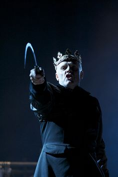 "Richard Clothier (King Richard) in William Shakespeare's ""Richard  III"" at the Huntington Theatre"