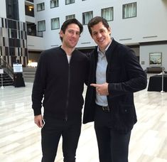 Evgeni Malkin and James Neal catch up at the 2016 NHL All-Star Weekend.