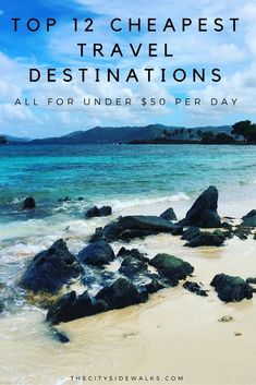 Discount Airfares Through The USA To Germany - Cost-effective Travel World Wide Stretch Your Money And Travel To These 12 Affordable Travel Destinations. Insight: Each Can Cost Less Than 50 A Day Travel Deals, Travel Guides, Travel Tips, Travel Hacks, Travel Advice, Travel Checklist, Travel Essentials, Trip Deals, Travel Photos