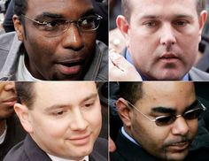 Five former New Orleans police officers, who shot dead two unarmed civilians and wounded another four on a bridge in the wake of Hurricane Katrina, have been jailed.    Read more: http://www.bellenews.com/2012/04/05/world/us-news/five-new-orleans-policemen-sentenced-in-katrina-danziger-bridge-shootings-case/#ixzz1r9X5IwSM
